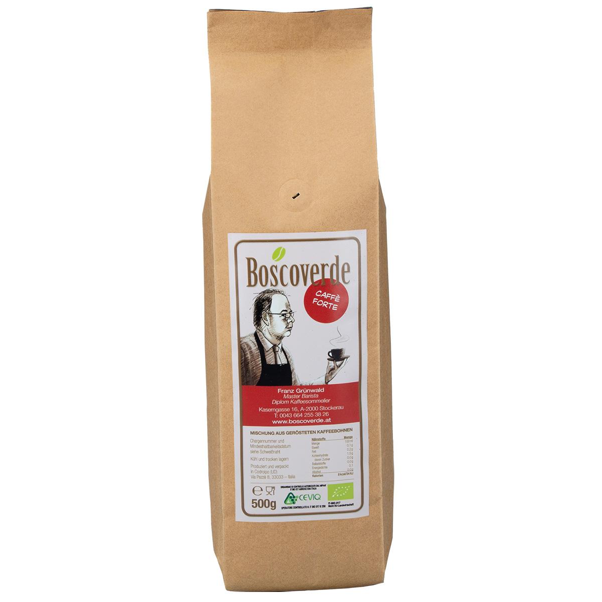 Boscoverde Bio Caffe Forte
