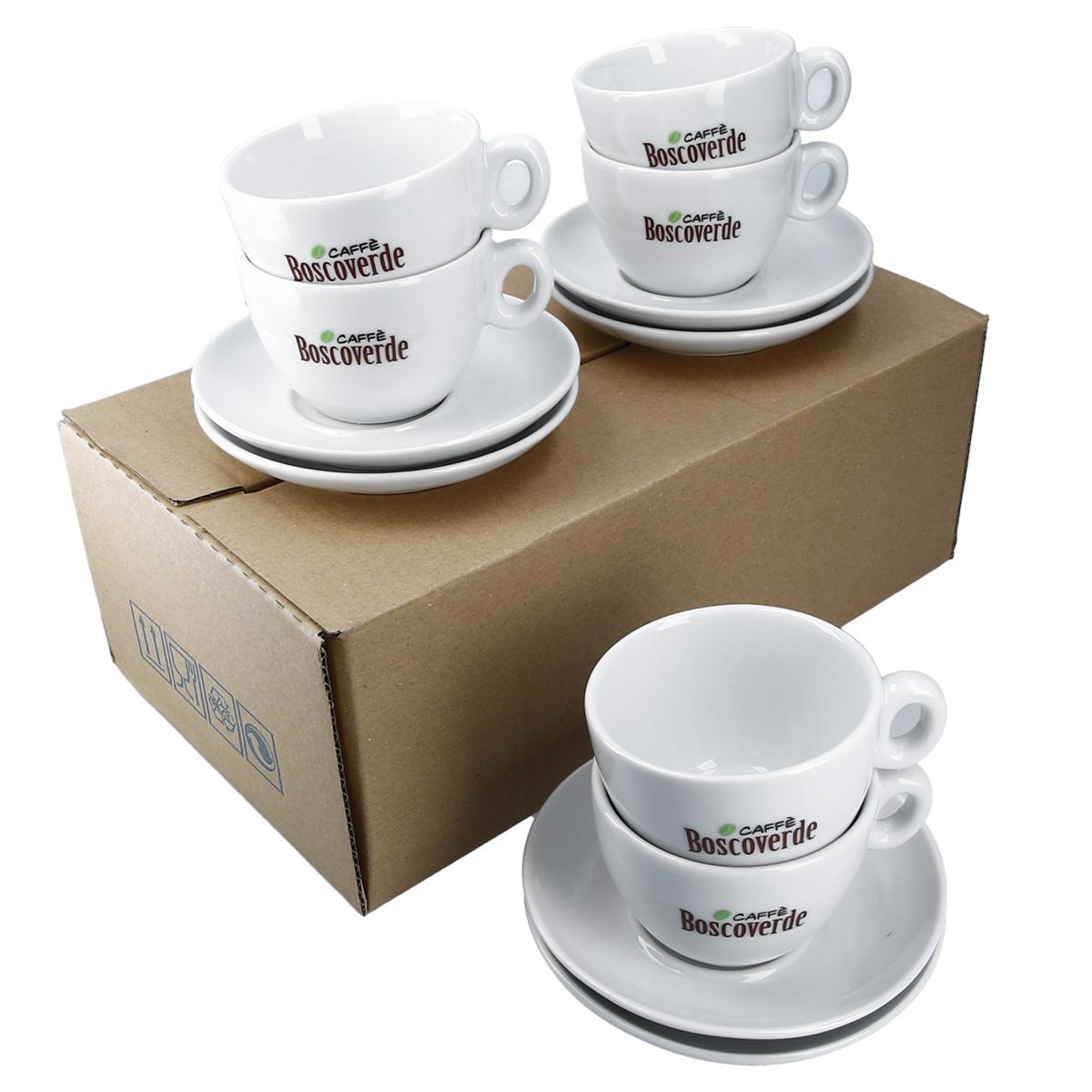 Cappuccino Tassen Set 6er Pack